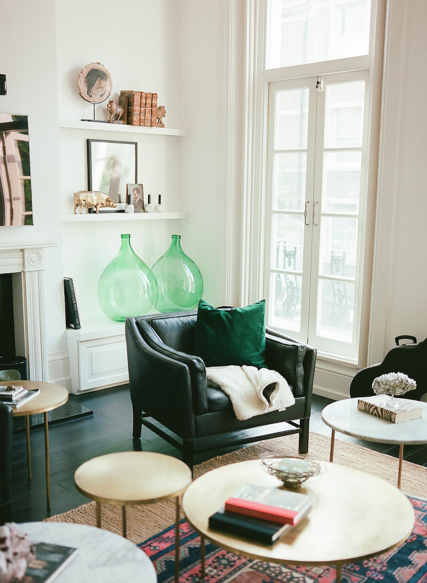 A Collected Sanctuary in Notting Hill That's All About Comfort | Design*Sponge