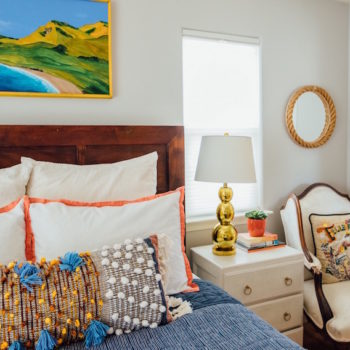 A Sunny California Home with Bright and Happy Details
