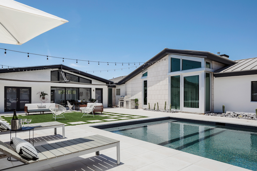 A Mid-Century Gem Becomes a Modern Family Home – Design*Sponge on carriage house guest house designs, hacienda guest house designs, southwestern guest house designs, ranch guest house designs,