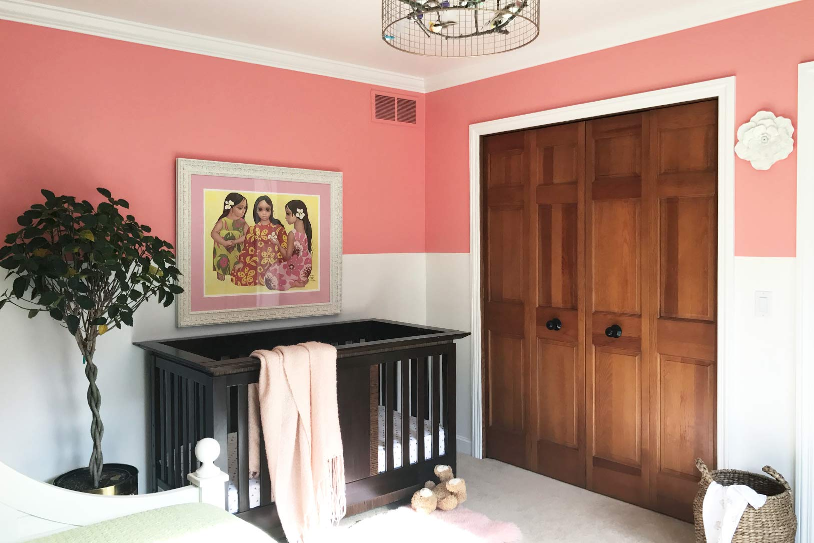 Hand-Painted Walls and Artwork Enriches a Midwestern Family's Home, Design*Sponge