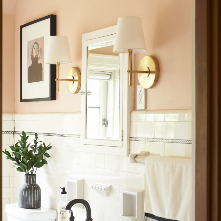 Blush and Moody Tones in a Pittsburgh Home for Photographers