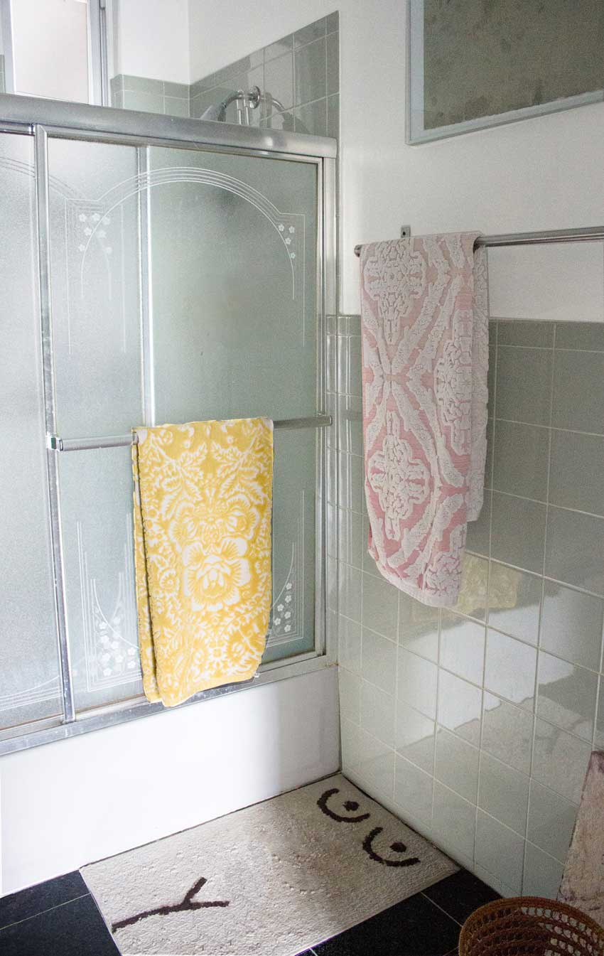 The Greenpoint Apartment Bathroom Of Mallory And David On Design*Sponge