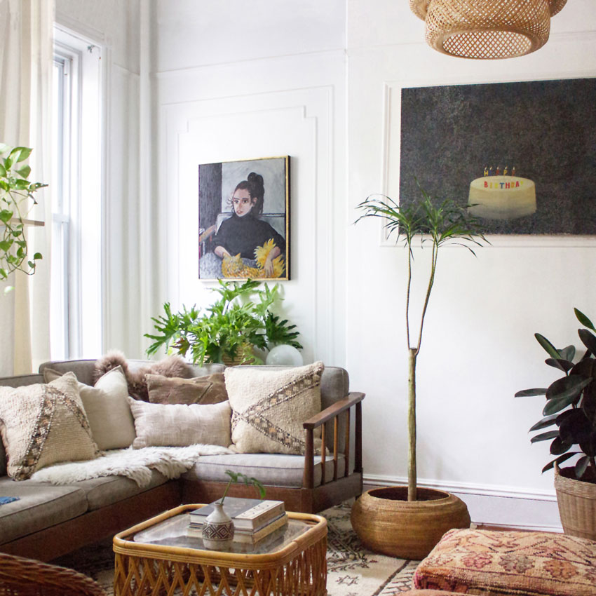 A Home That Feels Like It Could Be An Intimate Gallery Home Tour On Design*Sponge