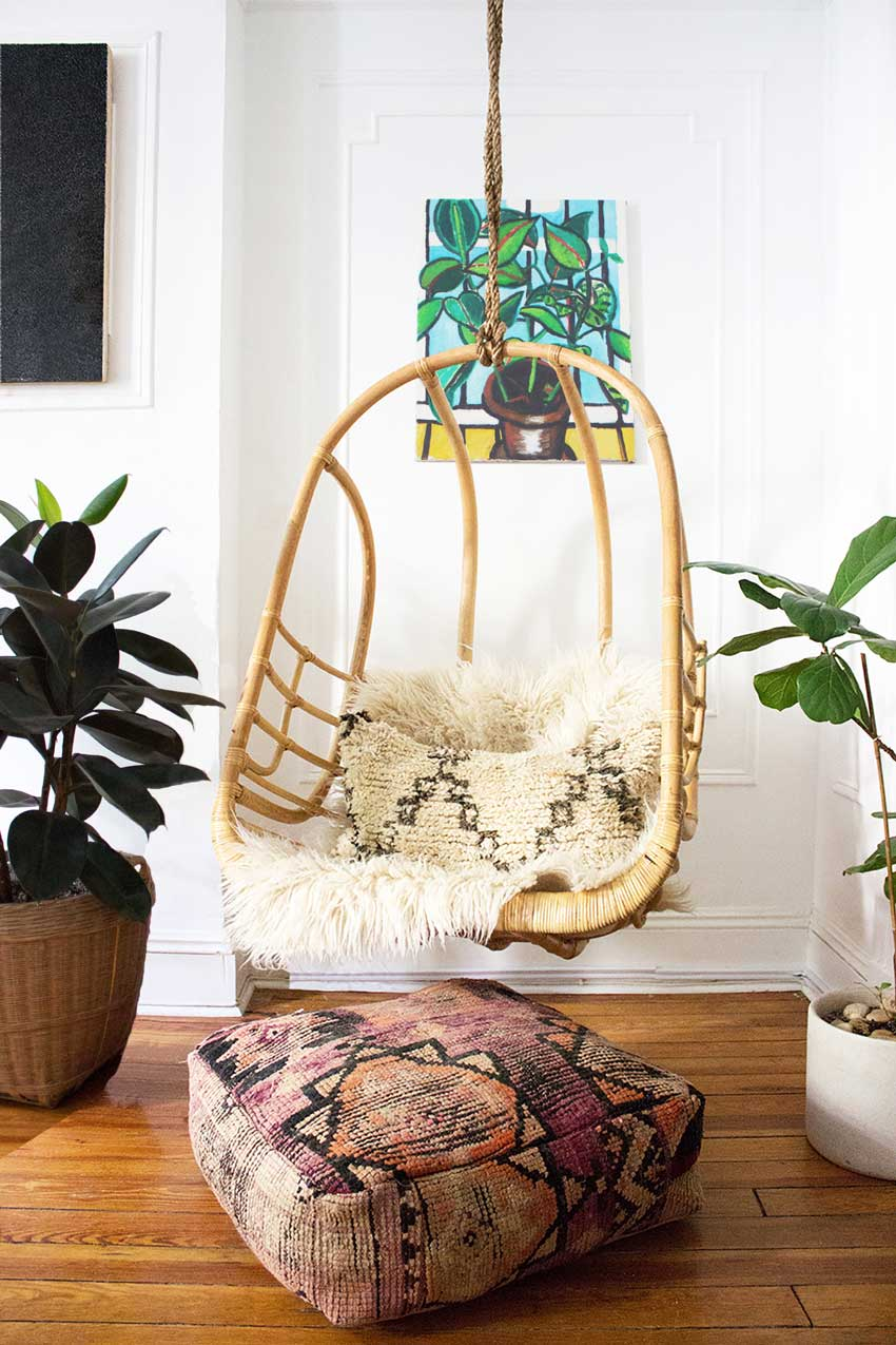 The Couple's Art And Mallory's Textiles Make This House A Home On Design*Sponge