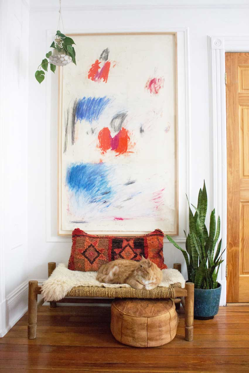A Beautiful Vignette In This Brooklyn Apartment On Design*Sponge