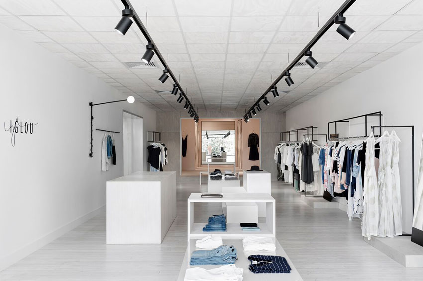 Iglou Is The Refined Clothing Store Within The Sonic Tour On Design*Sponge