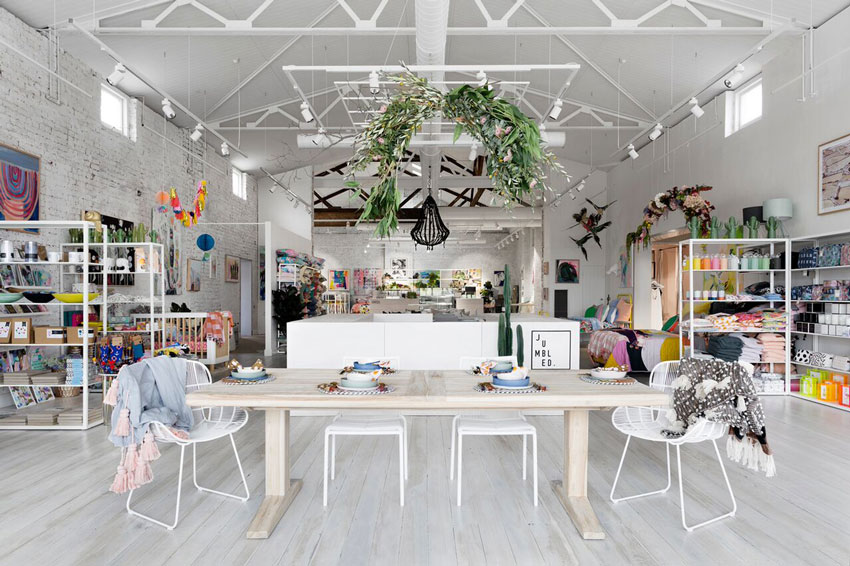 From The Front Of The Store You Can Nearly See All Three Spaces Within The Sonic In Australia Toured On Design*Sponge