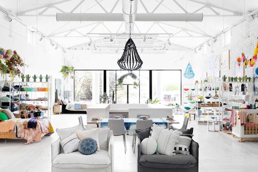 The Jumbled Shop Space Within The Australian Concept Store The Sonic On Design*Sponge