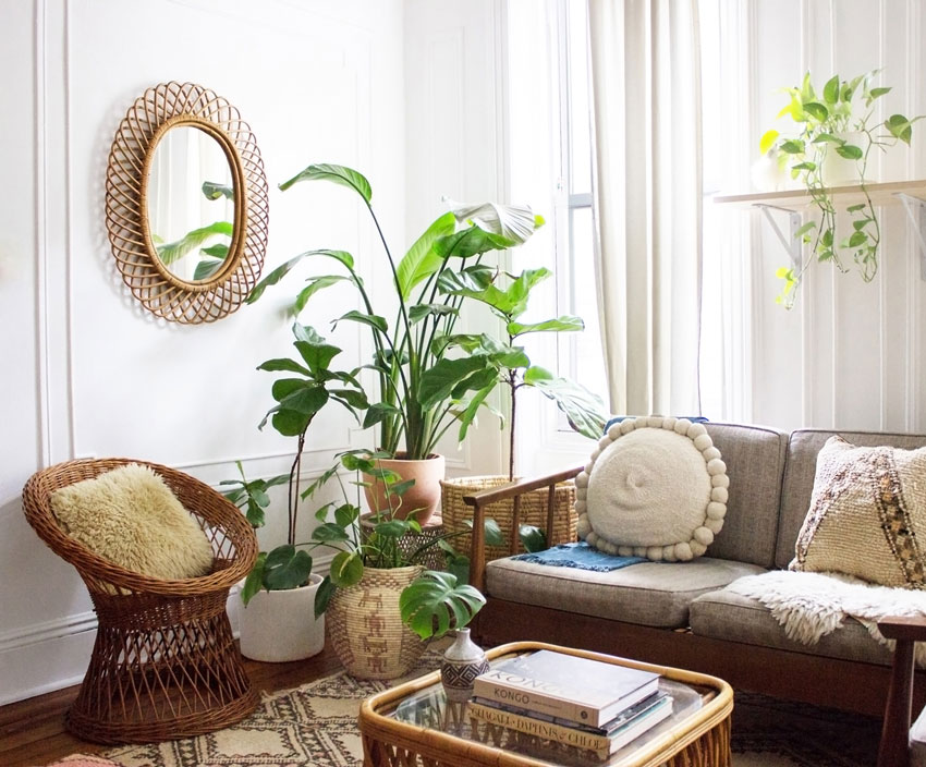 Clearly A Lover Of Textiles Mallory Literally Brings Work Home With Her Home Tour On Design*Sponge
