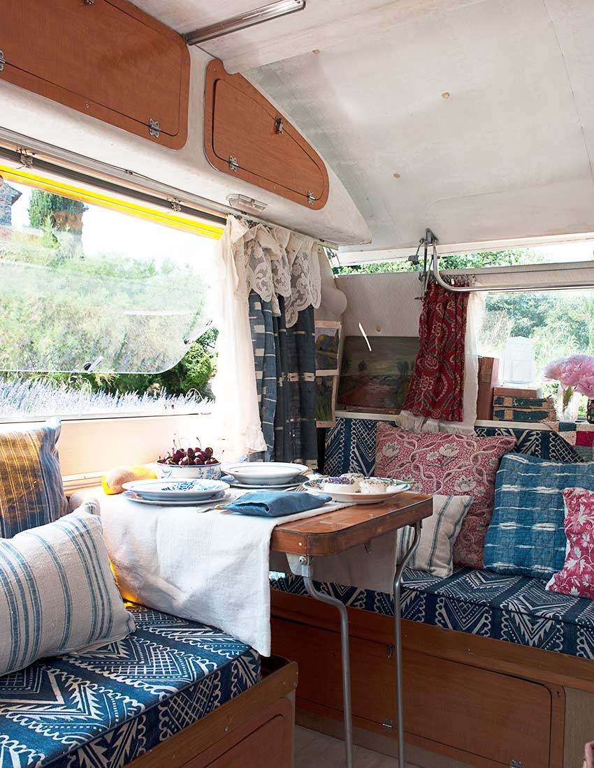 In France, an Antique Dealer's Atelier on Wheels, Design*Sponge