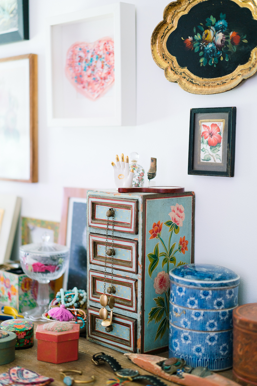 Art and Textiles Bejewel a Designer's Vermont Home | Design*Sponge