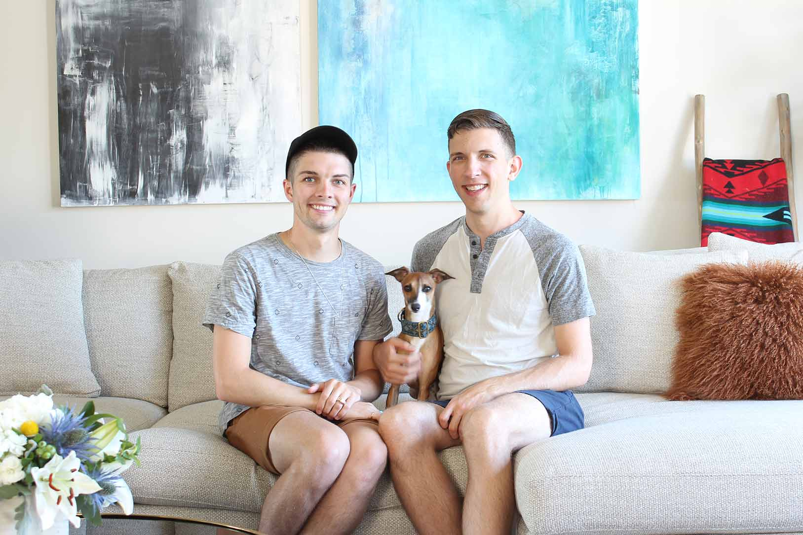 A Newlywed Couple's Lucky Find in Boston, MA, Design*Sponge
