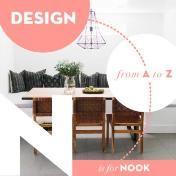 Design from A to Z: N is for Nook