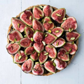In the Kitchen With: A Healthy Fruit Frangipane Tart