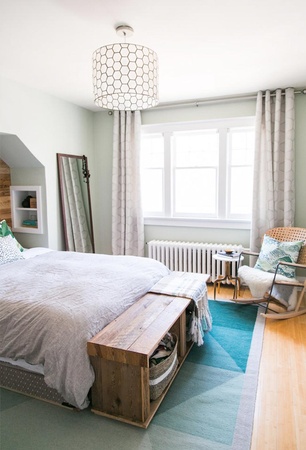 A Stylish Bedroom on a Budget in Toronto | Design*Sponge
