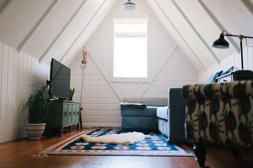 The Attic Serves As A Family And Guest Room In This Oakland Home Tour On Design*Sponge