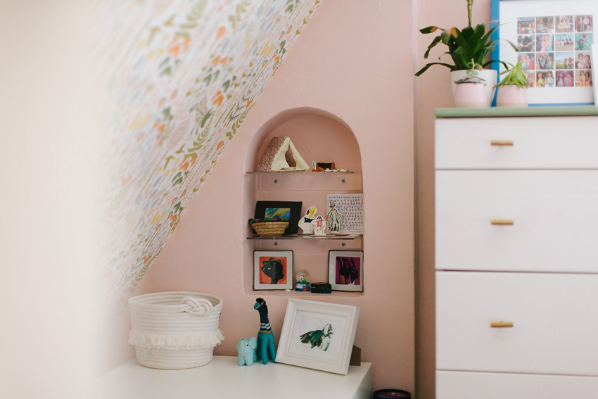 A Charming Alcove In The Kids Room Of Their Oakland Home On Design*Sponge