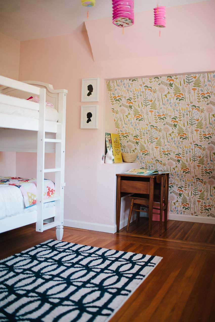 The Kids' Room Shares The Roof Angle Of The House On Design*Sponge