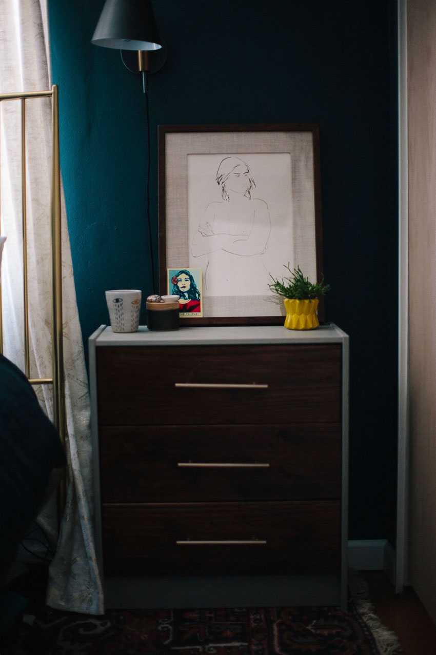 Details In The Master Bedroom Along With Additional Storage For The Petite Oakland Home On Design*Sponge