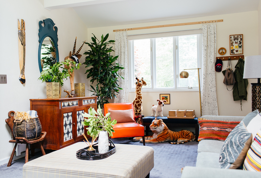 A Family's Eclectic Style Transforms a Mid-Century Ranch Home   Design*Sponge