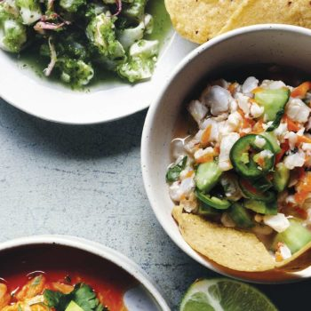 In the Kitchen With: Nopalito's Traditional Spicy Shrimp Ceviche