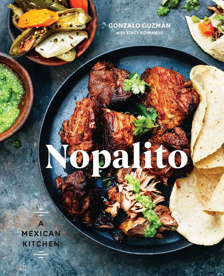 Cover of Nopalito cookbook photo by Eva Kolenko | DesignSponge