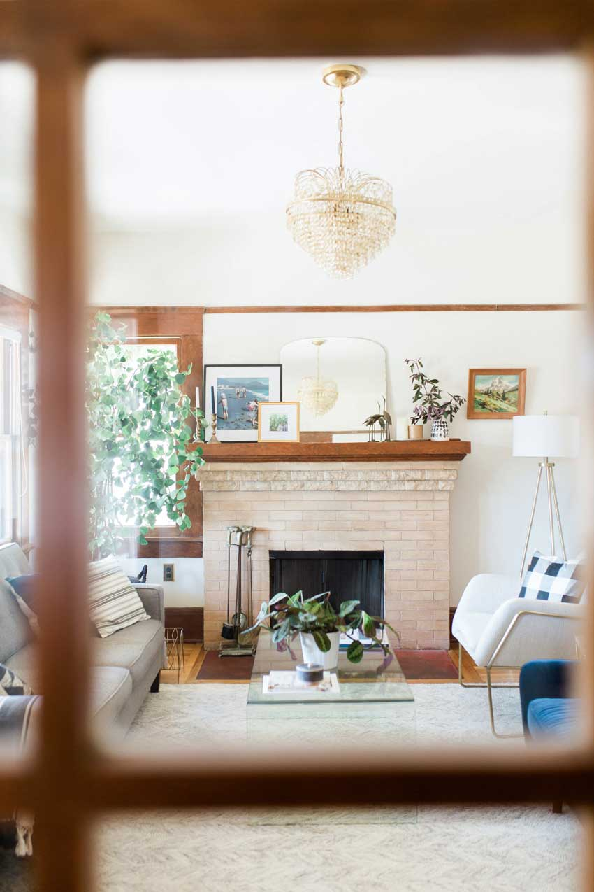 A View Through The French Doors In This San Diego Home On Design*Sponge