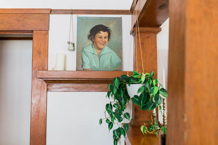 A Thrifted Painting Has Become Incredibly Special In This Tour On Design*Sponge