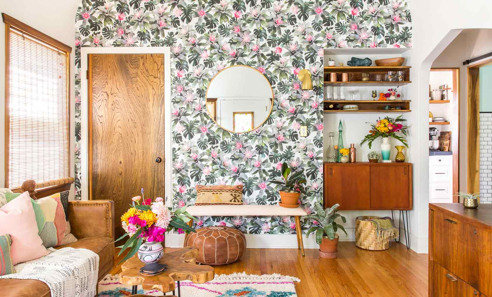 A Gut Rehab With Unforgettable Walls In La Design Sponge