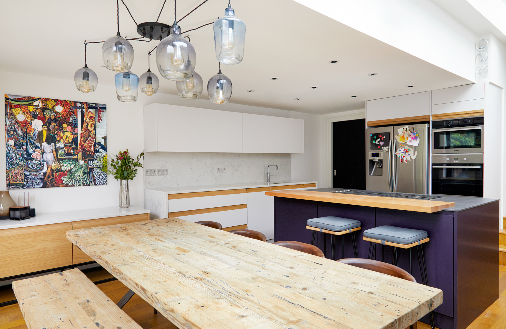 Before After A Kitchen Renovation And Expansion In London