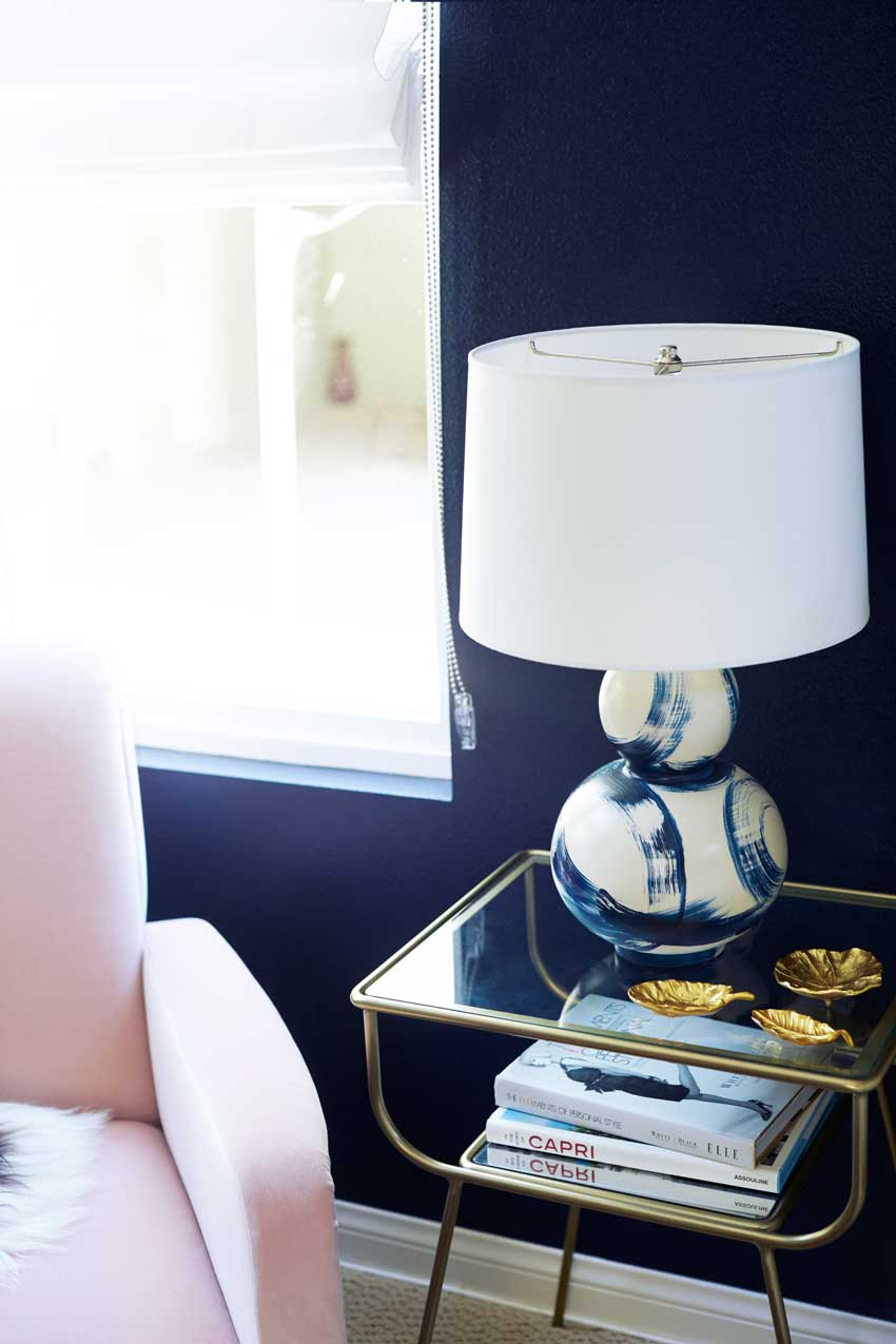 Bedside Table And Side Table Pulling Double Duty On Design*Sponge