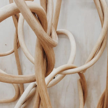Wooden Knots by Katie Gong