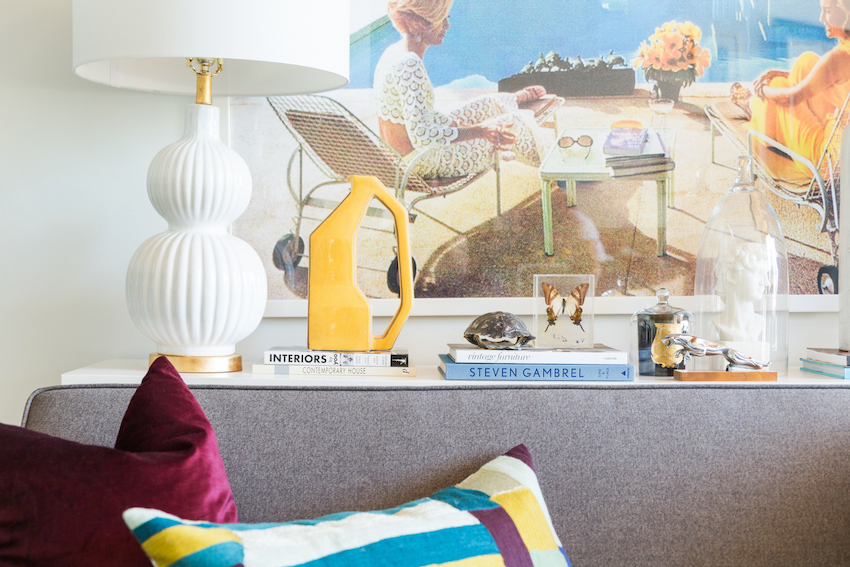 A Calgary Power Couple Puts their Own Stamp on Mid-Century Modern | Design*Sponge