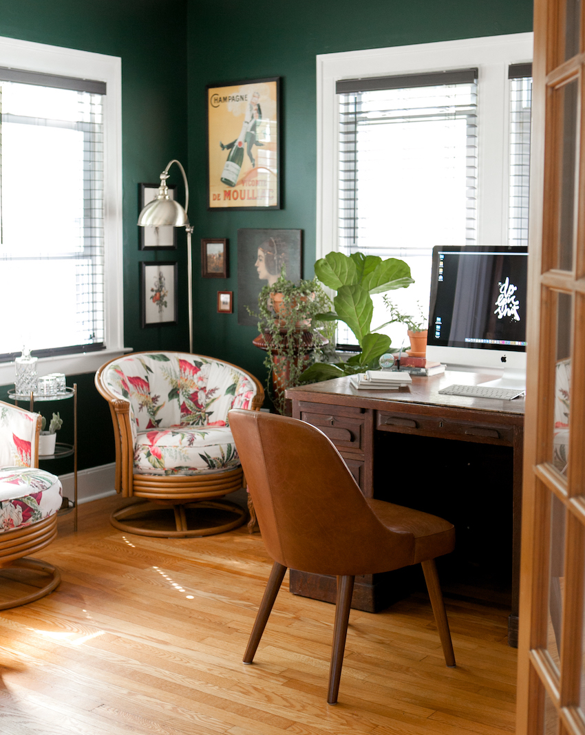 In New Haven, a Boho Glam Bungalow That's Welcoming to All | Design*Sponge
