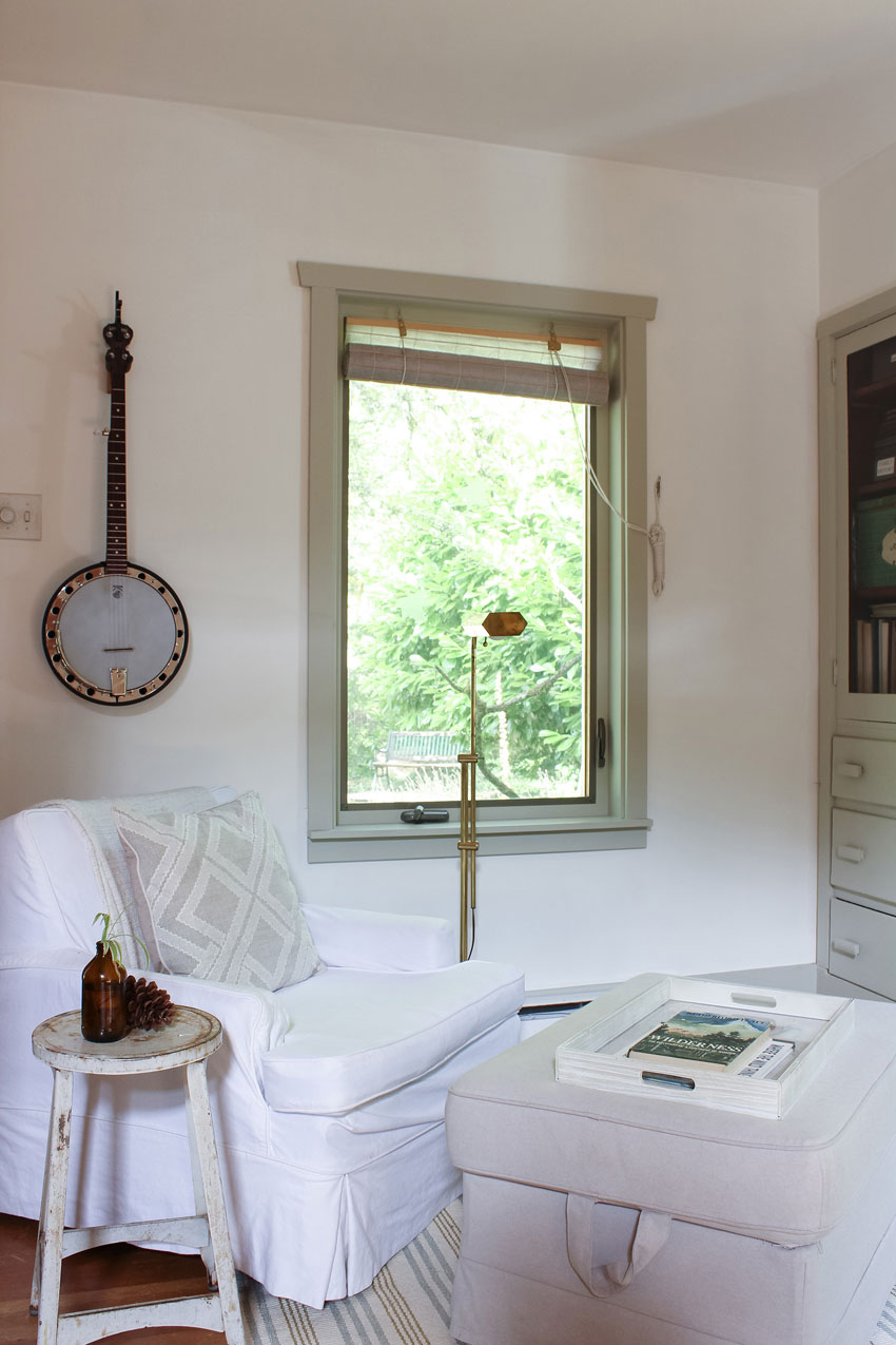 A Corner Of The Cottage Is Dedicated To Making Music On Design*Sponge