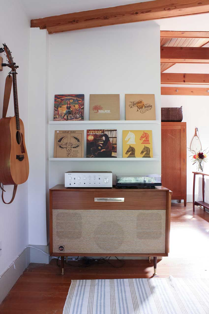 Records On Rotation In The Olympia Cottage On Design*Sponge