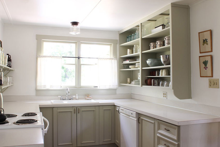 The Kitchen Is Small But Remains A Gathering Place On Design*Sponge