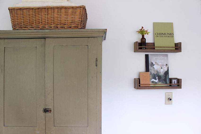 Antique Dresser In Nursery Looks Like It Was Made For The Cottage On Design*Sponge