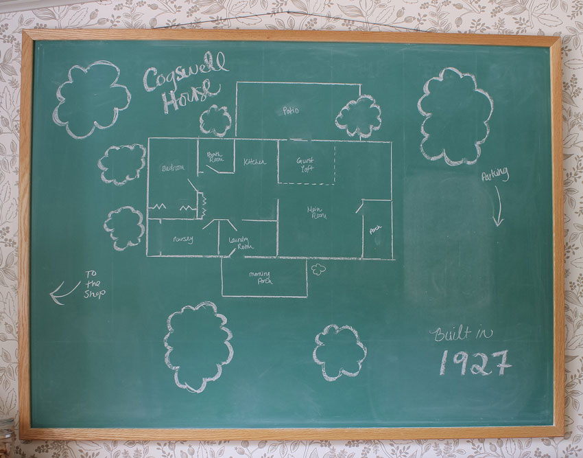 The Cogswell Cottage Layout On Design*Sponge
