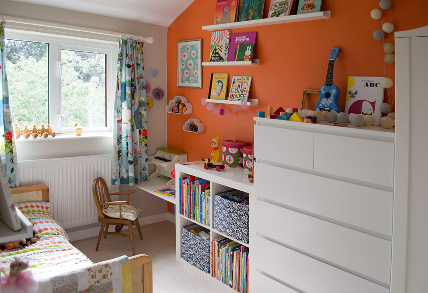 A Colorful Daughter's Room On Design*Sponge