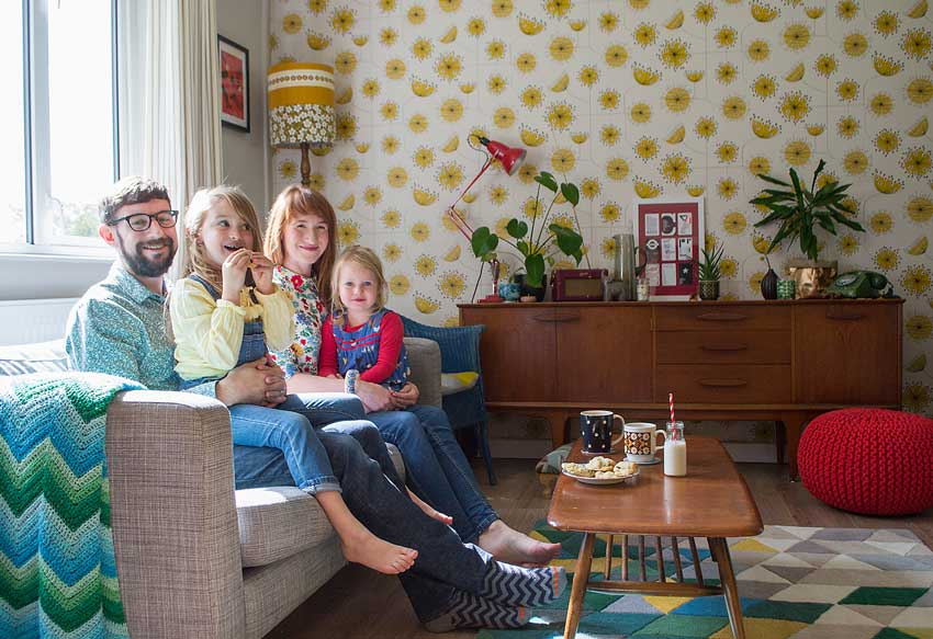 The Coote Family In Their Colorful United Kingdom Home Tour On Design*Sponge
