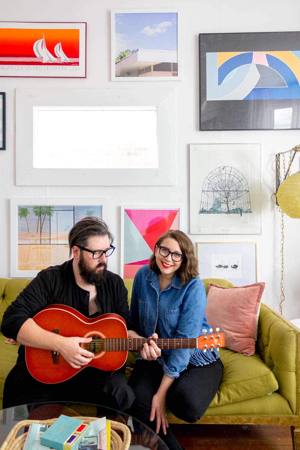 A Vibrant Rental for Two Creatives in Omaha, NE | Design*Sponge