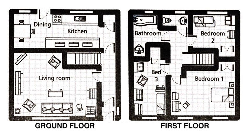 The Coote Family Home Floor Plan On Design*Sponge