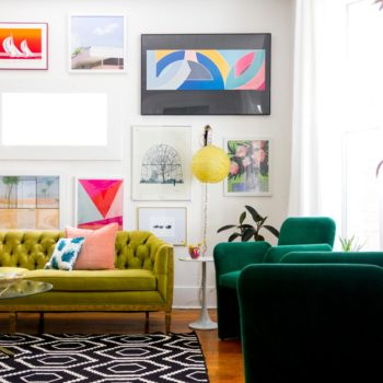 A Vibrant Rental for Two Creatives in Omaha, NE