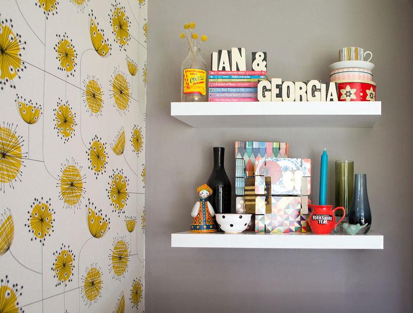Georgia Loves Displaying Collections Throughout Her Home On Design*Sponge