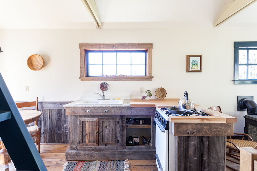 In Nevada City, a Rustic Retreat Handcrafted with Love | Design*Sponge