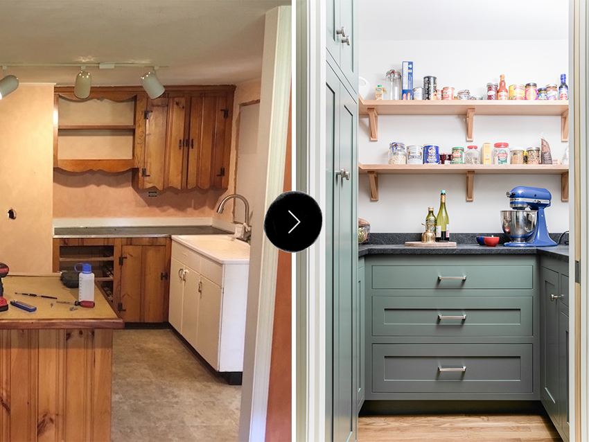 Before & After: A Dated Kitchen Rebuilt with Impeccable Craftsmanship | Design*Sponge