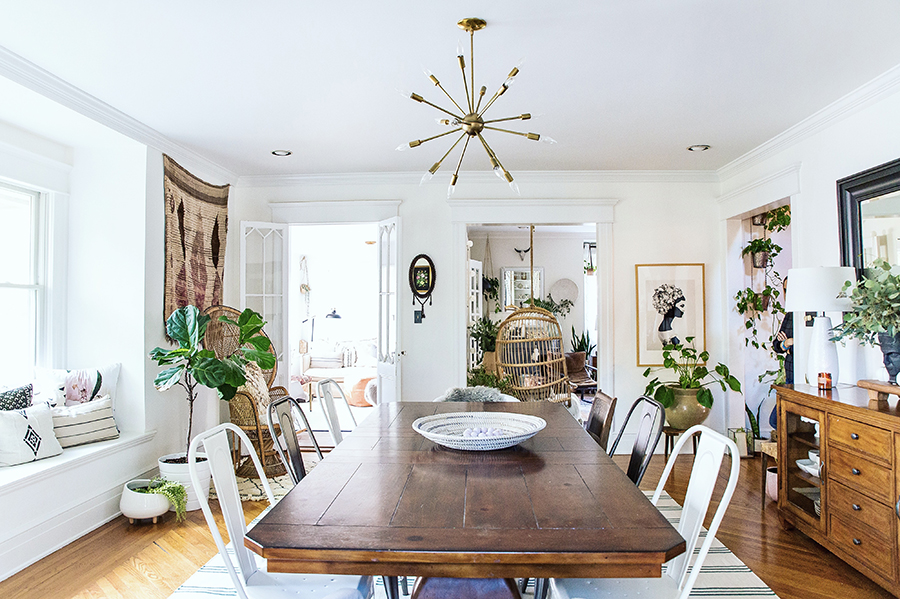 A Old New Jersey Home Styled for Living and Laughter via Design*Sponge