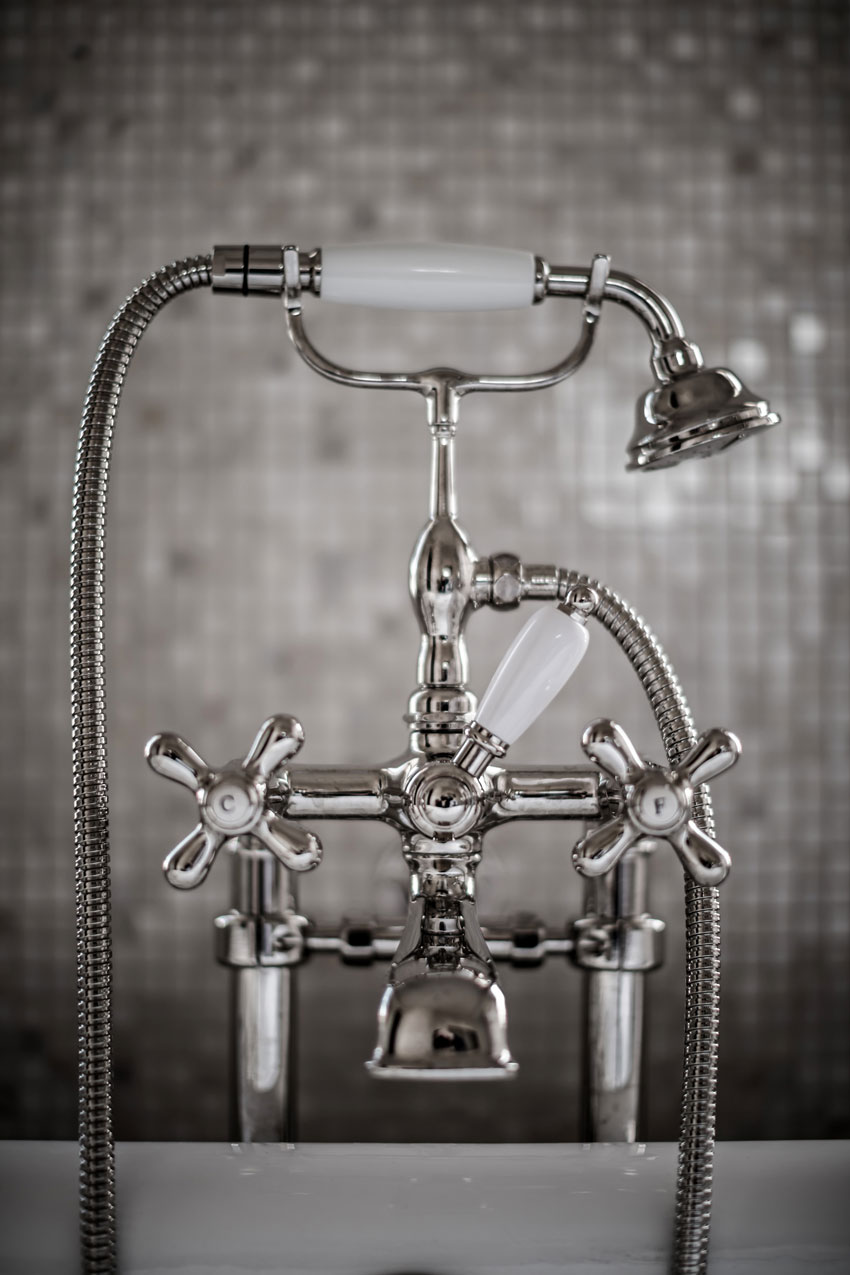 Beautifully Designed Bathroom Fixtures In The Hotel Providence On Design*Sponge