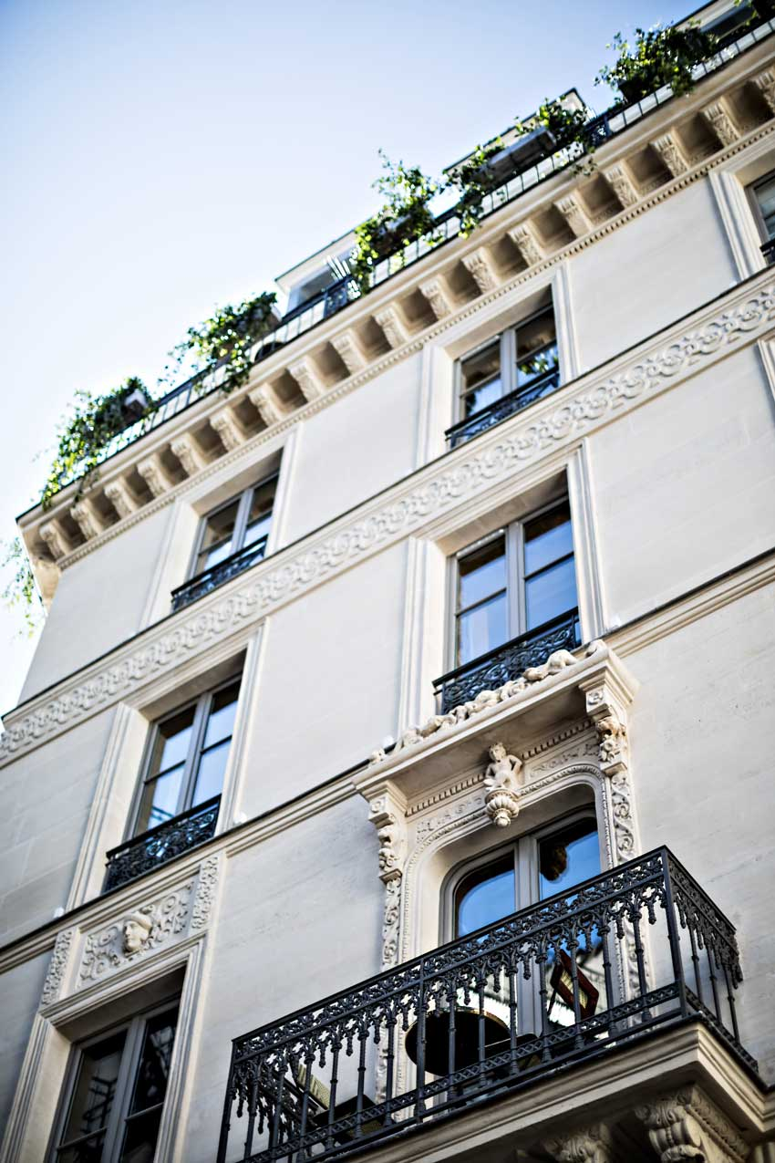 The Hotel Providence Paris Exterior Tour On Design*Sponge